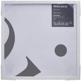 Habitat 50x50cm Wall Frame - White Birch.