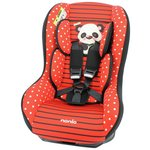 more details on TT Driver Panda Group 0+-1 Car Seat - Red.