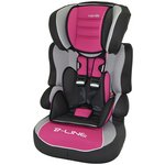 more details on TT Nania Beline Luxe Group 1-2-3 Car Seat - Agora Framboise.