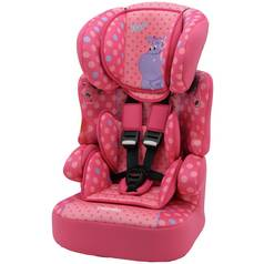 TT Beline Plus Hippo Group 1/2/3 Highback Booster Seat- Pink