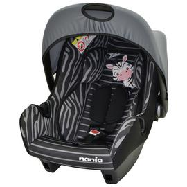 Beone Zebre Group 0+ Baby Car Seat - Black & White