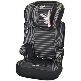 Befix Zebre Plus Group 2/3 HighBack Booster Seat - Black