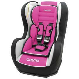 Cosmo Car Seat Groups 0+/1 Car Set - Pink