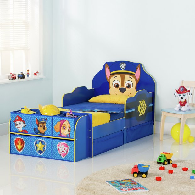 Buy Paw Patrol Cube Toddler Bed Frame Blue At