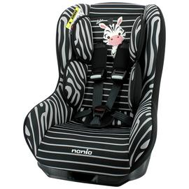 Driver Zebre Group 0+/1 Car Seat - Black and White