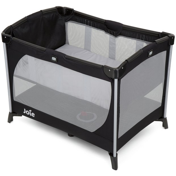 buy joie allura travel cot with bassinet at. Black Bedroom Furniture Sets. Home Design Ideas