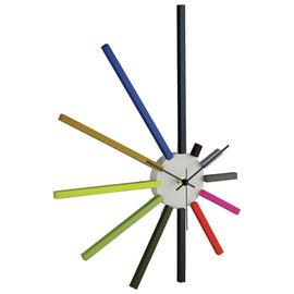 Habitat Spectrum 45cm Coloured Spokes Clock