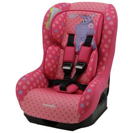 Driver Hippo Group 0+/1 Car Seat - Pink