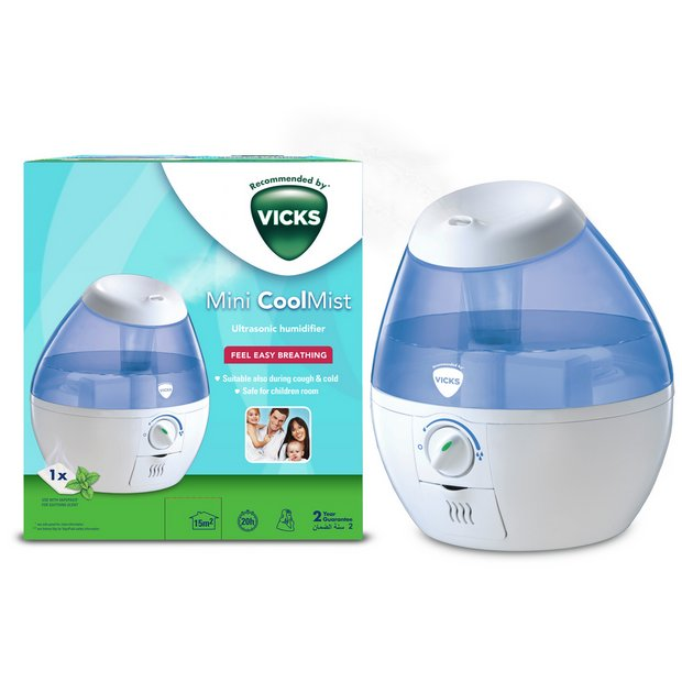 Buy Vicks Mini CoolMist Ultrasonic Humidifier | Humidifiers | Argos