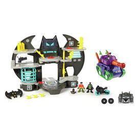 Fisher-Price Imaginext DC Super Friends Batcave Gift Set