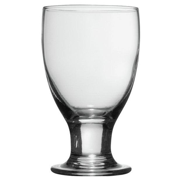 Buy Habitat Napoli Set Of 6 Wine Glasses 25cl At Argos