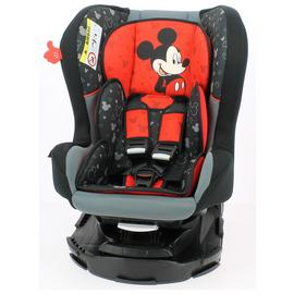 Team Tex Disney Mickey Mouse Group 0/1 Car Seat - Red