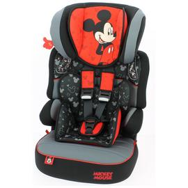 Team Tex Disney Beline Group 1/2/3 High Back Booster Seat