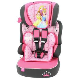 Disney Princess Beline Group 1/2/3 High Back Booster Seat