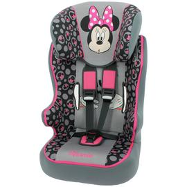 Disney Minnie Group 1/2/3 Racer Car Seat - Pink