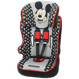 Disney Mickey Group 1/2/3 Racer High Back Booster Seat