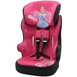 Disney Princess Group 1/2/3 Racer High Back Car Seat - Pink