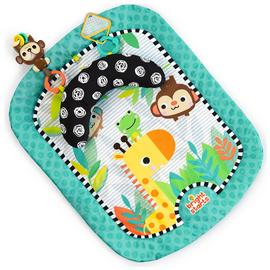 Bright Starts Splashin' Safari Play Mat - Blue