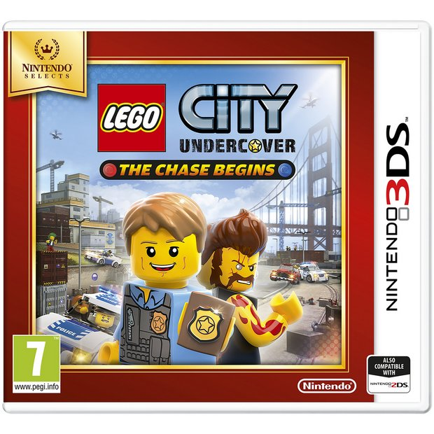 Buy Lego City Undercover The Chase Begins Selects 3ds Game