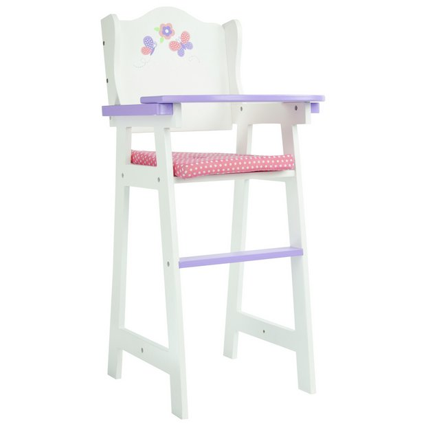 Buy Olivias Little World 18 Doll Furniture Baby Highchair Dolls Furniture Argos