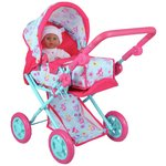 more details on Dollsworld Deluxe Pram And Baby Carrier.