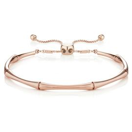 Buckley London Rose Colour Bamboo Friendship Bangle