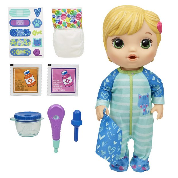 Buy Baby Alive Mix My Medicine Baby Doll | Dolls | Argos