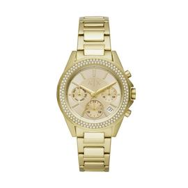 Armani Exchange Ladies Gold Stainless Steel Bracelet Watch