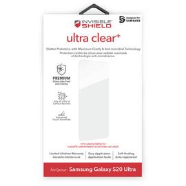 InvisibleShield Ultra Clear+ Samsung Galaxy S20 Ultra Screen