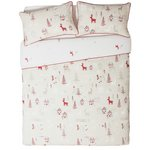 more details on Collection Nordic Christmas Bed in a Bag Set - Double.
