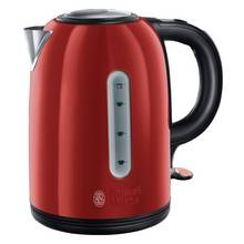 Russell Hobbs 20445 Westminster S/Steel Kettle - Red