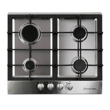 Russell Hobbs RH60GH402SS Gas Hob - Stainless Steel.