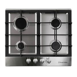 Russell Hobbs RH60GH402SS  Gas Hob - Stainless Steel