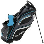 more details on Ben Sayers 14 Way Deluxe Stand Bag - Black/Blue