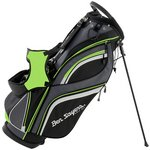more details on Ben Sayers 14 Way Deluxe Stand Bag - Black/Lime