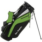 more details on Ben Sayers X-Lite Stand Bag - Black/Lime