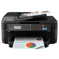 Epson WorkForce WF-2750DWF All-in-One Wireless Printer