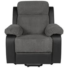 Collection Bradley Riser Recline Fabric Chair - Charcoal