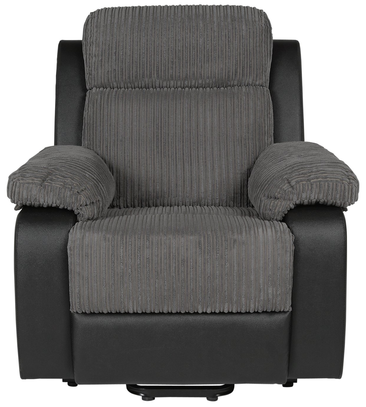 Collection Bradley Riser Recline Fabric Chair   Charcoal