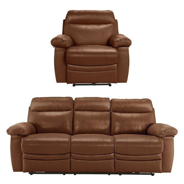 buy collection new paolo 3 seat power recline sofa chair tan at your online. Black Bedroom Furniture Sets. Home Design Ideas