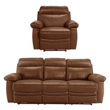 Buy Collection New Paolo 3 Seat Recliner Sofa Chair
