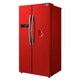 Russell Hobbs RH90FF176R-WD Fridge Freezer - Red