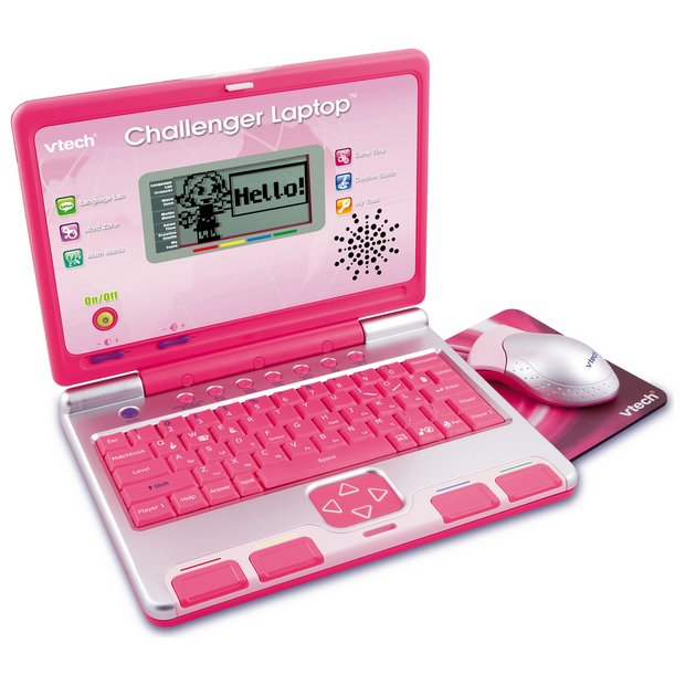 Buy Vtech Challenger Laptop Pink At Argos Co Uk Your