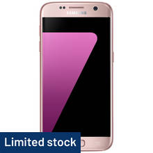 Sim Free Samsung Galaxy S7 Mobile Phone - Pink Gold