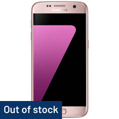 SIM Free Samsung Galaxy S7 32GB Mobile Phone - Pink Gold
