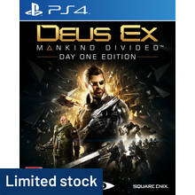 Deus Ex: Mankind Divided PS4 Game