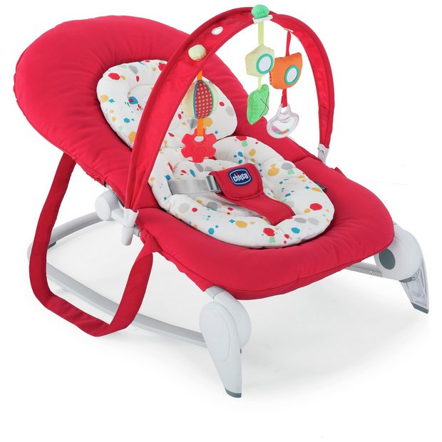Buy Chicco Hoopla Bouncer Red At Argos Co Uk Your