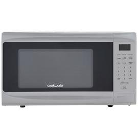 Cookworks 800W Grill Microwave D80H - Silver