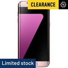 Sim Free Samsung Galaxy S7 Edge Mobile Phone - Pink Gold
