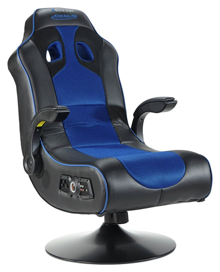 buy x-rocker adrenaline gaming chair - ps4  u0026 xbox one at argos co uk